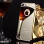 Capa Case Bumper Celular Iphone 5 5s 5se + Tampa Espelhada