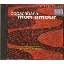 Cd Gilberto Gil - Copacabana Mon Amour 1970 - Novo***
