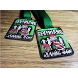 Medalhas Esportivas Personalizada De Metal Resinadas