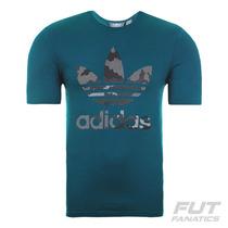 Camiseta Adidas Originals Trefoil - Futfanatics