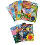 Kit Infantil Aperte E Ouça Aperte E Escute Livros C/ Som