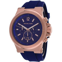 Relógio Michael Kors Mk8295 Masculino Azul Original Garantia