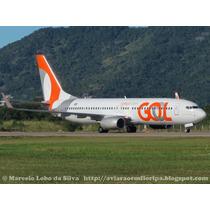 Avião Da Gol Miniatura Boeing 737-800 Prx. Pr-gxz Esc.1/144