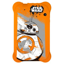 Tablet Multilaser Disney Star Wars Nb238 Laranja Tela 7  Wi-