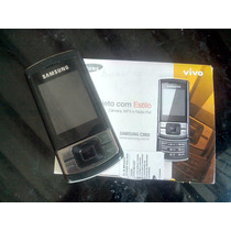 Celular Samsung C3050 C/ Camera & Mp3 Original , Fm
