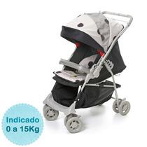 Carrinho De Bebê - - Maranello - Preto Bege Galzerano