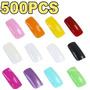 500 Tips Unhas Acrilica Gel - Tips Coloridas
