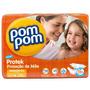 Fralda Pompom Protek Baby Grandinhos 14 Unidades