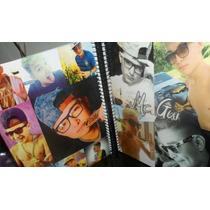 5 Cadernos Mc Gui 1 Materia Capa Dura Com Imagens Diferentes