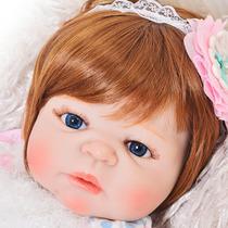 Encomenda | Boneca Bebê Reborn Silicone + Enxoval - Original