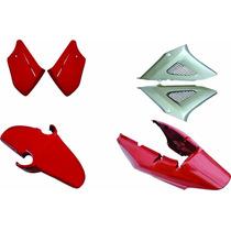 Carenagem Kit Completo Cbx 250 Twister Vermelho 08+peças