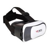 Óculos De Realidade Virtual 3d Vr Box Com Controle Remoto