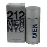 Perfume 212 Men Nyc 200 Ml Carolina Herrera Original Adipec