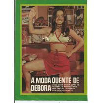 Pôster - Débora Duarte - Revista Sétimo Céu - Ano 1971.