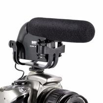 Microfone Direcional Boya By-vm190 Para Dslr
