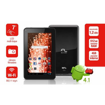 Tablet 7 Multilaser M7s 1.2ghz 4gb Android 4.1 Wi-fi Modem