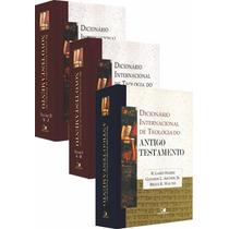 Kit Dicionário Intern. De Teologia Do At E Nt - 12x S/juros