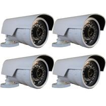 Kit 4 Câmeras Bullet Ip 1.3mp Hd 720p Onvif 2.4 (intelbras)