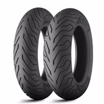 Combo Pneu Michelin 110/70-16 + 130/70-16 Citycom Moto