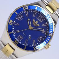 Relógio Adidas Adh 2740 Masc Pulseira Aço Inoxidavel Origi