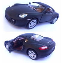 Porsche Cayman S Carro Carrinho Miniatura 1:34 Ferro Fricção