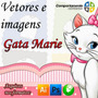 65 Vetores E Imagens Da Gata Marie Corel 10