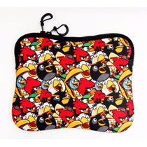 Case Capa Porta Tablet Notebook 10 Santino Angry Birds Neop