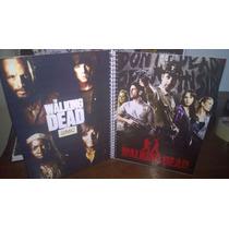 Caderno The Walking Dead 10 Materia