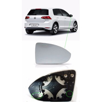 Lente Do Retrovisor Com Base Golf 2014 2015 2016 Ld Original