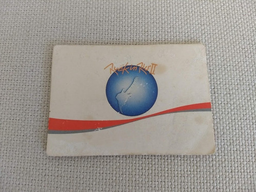 Ingresso Rock In Rio 1991 Original Guns N Roses Sepultura