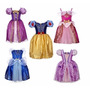 Vestido Fantasia Sofia Cinderela Rapunzel Branca De Neve