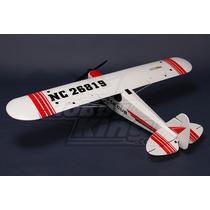 Piper Pa-18 Supercub Plug-n-fly Com Esc, Servos E Motor