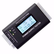 Testador Fonte Digital Lcd Alimentação Atx 20/24 Pinos Sata