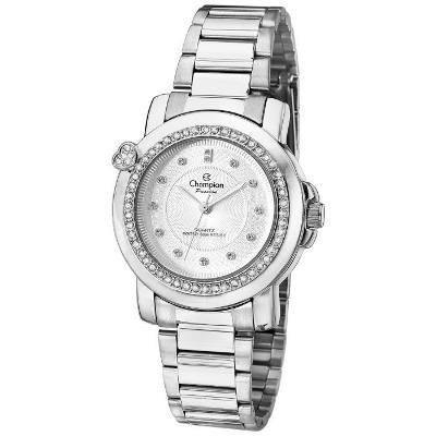 16e0f8854c1 Relógio Champion Feminino Promoção Original Cn29141q Prata