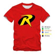Camisa,camiseta Personaliza -robin Algodão