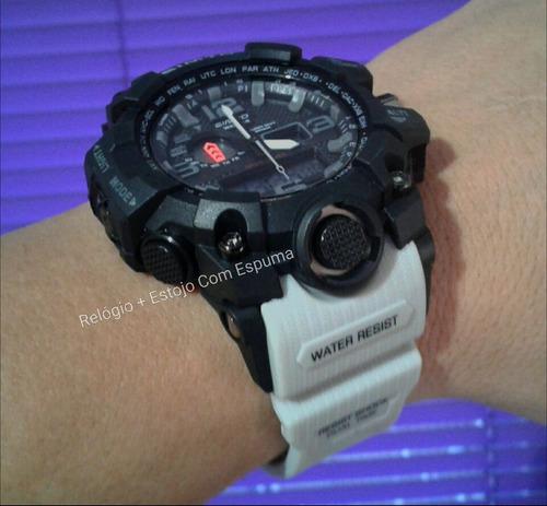 987d920c122 Relógio Digital Militar S Shock Gimto 303 Prova Dágua   1155. R  120