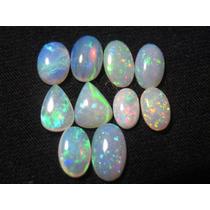6ct Lote De Opalas Brasileiras - Gema Pedra Preciosa Raro