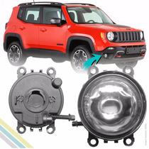 Par Farol Milha Auxiliar Jeep Renegade 2015 2016