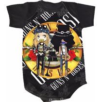 Body Guns N Roses (bori,body De Bebe,body Infantil)