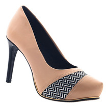 Sapato Scarpin Ramarim Salto Meia Pata Confortável 1540203