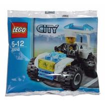 Lego Original 30013 Police Quad - City - Frete R$5,00