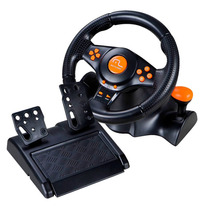 Volante Racer 3 Em 1 Wireless Multilaser Ps2, Ps3 E Pc