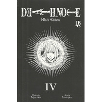 Death Note Black Edition #04 - Manga Jbc Gibiteria Bonellihq