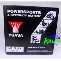 Bateria Yuasa Virago 250/ Gs 500 Yb10l-a2 Kallu Motos