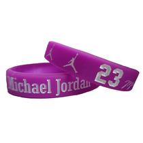 Pulseira De Silicone Michael Jordan - 23 - Basquete (novo)