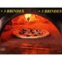 Projeto De Forno Para Fazer Pizza + 3 Brindes
