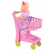 Carrinho De Mercado Infantil  Market Rosa Magic Toys 871