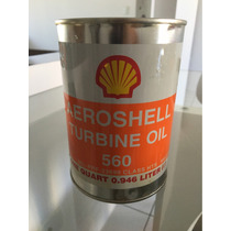 Lubrificante Shell Aeroshell Turbine Oil 560