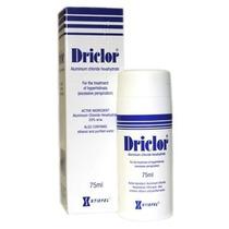 Desodorante Driclo®r 75ml Antitranspirante Parcele Sem Juros
