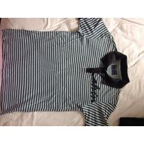 Camisa Polo Calvin Klein Infantil Tam 8 Usada